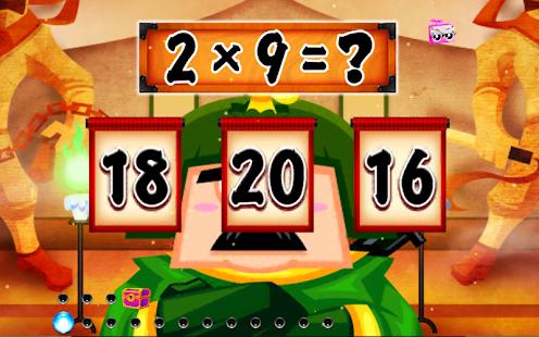 Math Ninja - Moltiplicazione - Screenshot