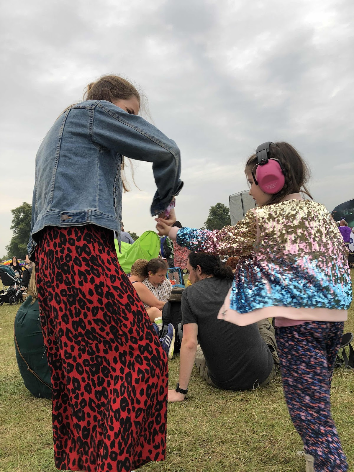 Dancing at Wilderness Festival