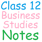 Class 12 Business Studies note