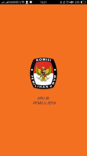 KPU RI PEMILU 2019 2.0.1 Screenshots 1