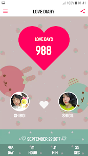 Love Diary (Love Memory, Love Days Counter) 126.20 Mod + APK + Data UPDATED 2