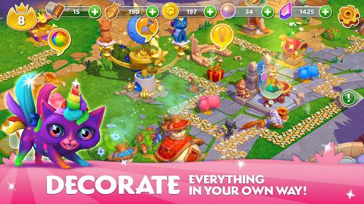 Cats & Magic: Dream Kingdom android2mod screenshots 11
