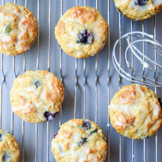 Fat Free Blueberry Lemon Muffins.