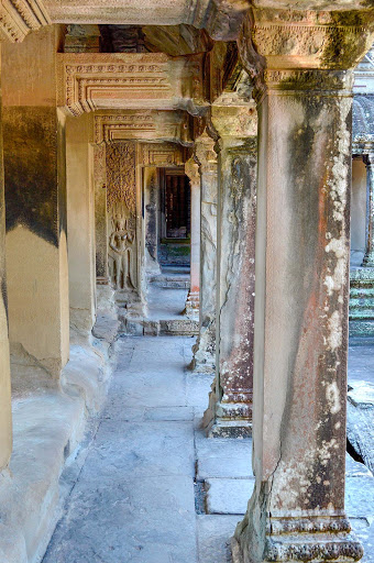 cambodia-angkor-compound.jpg - Careful restoration has persevered many of these temples.