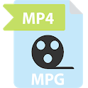 Convert MPG to MP4 Video icon