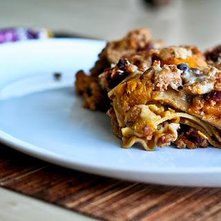 Autumn Turkey & Pumpkin Lasagna