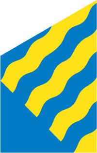 Norrbotten fasadflagga 75 cm