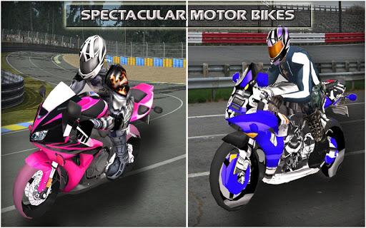 モトレーシング:バイク3D