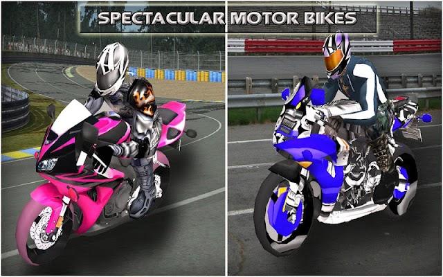 Racing Moto : Super Bike 3D - screenshot
