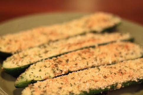 Baked Parmesan Zucchini
