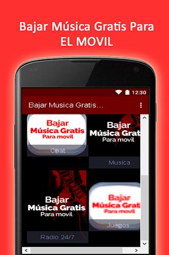 descargar musica gratis para el movil android