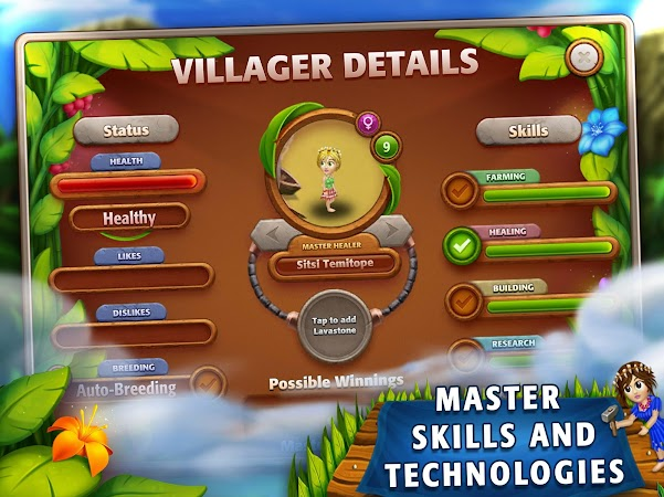 Virtual villagers origins 2 anroed com for Vv origins 2 artisanat