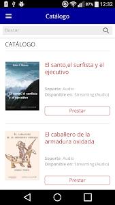 Bibliotecas Diputación Badajoz screenshot 1