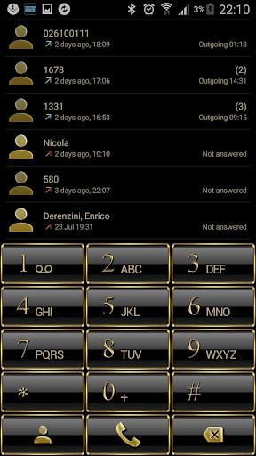 Theme for ExDialer Frame Gold