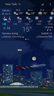 YoWindow Wetter Screenshot