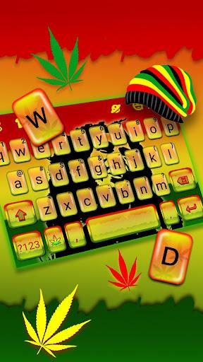 Reggae Style Keyboard Theme 1.0 screenshots 2