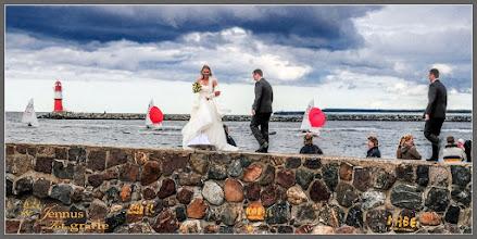 Photo: Die Hochzeit auf der Mole: Portrait photography: goo.gl/B1OsX8