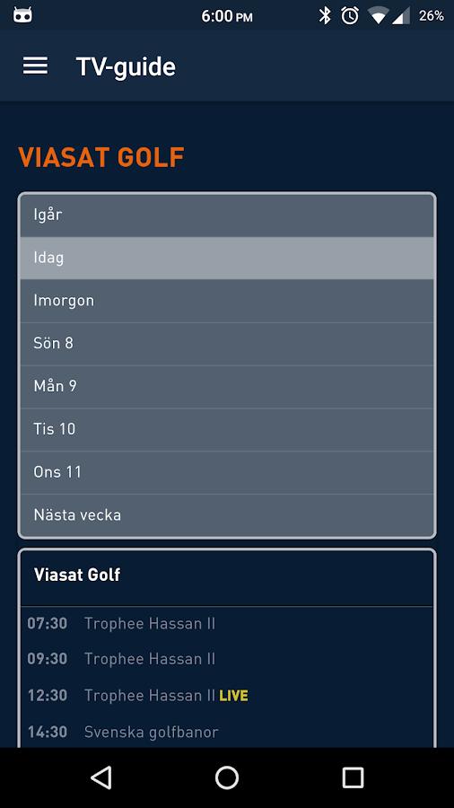 golf appar till android gratis