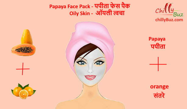 Face pack in hindi