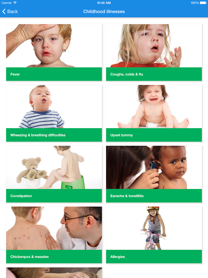 Child Health HMR- screenshot