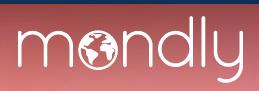 Mondly language learning platform logo.