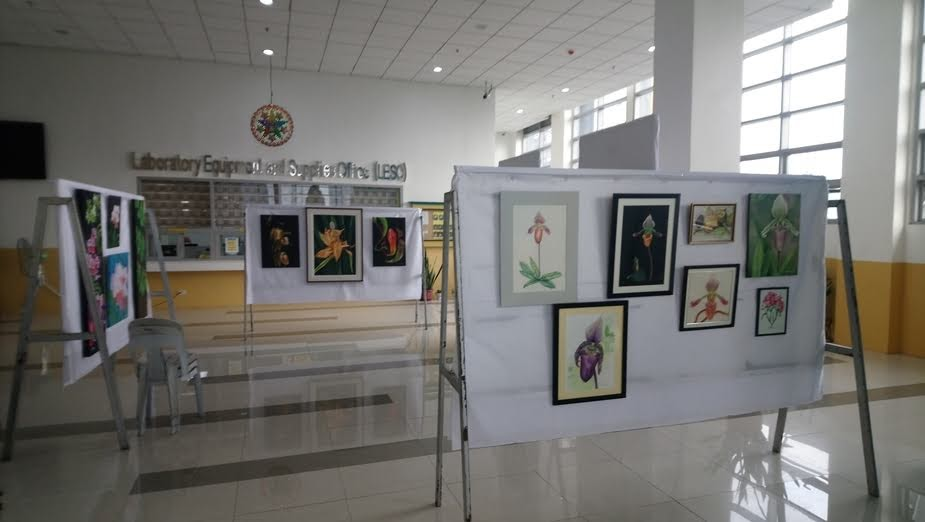 Philippine Botanical Art Society's Exhibit at the 5th International Symposium on Native Plants