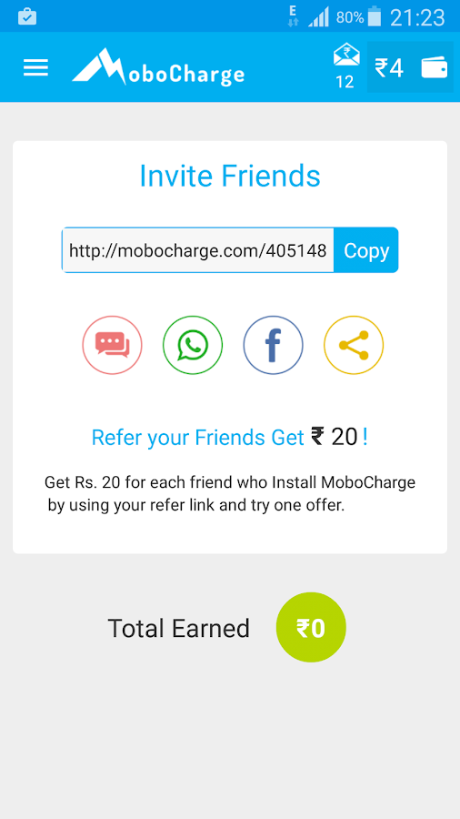 FREE Recharge & Free Texting- screenshot