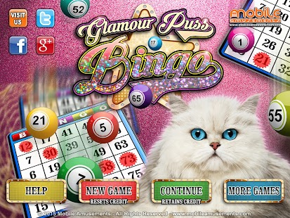Glamour Puss Bingo Cats FREE- screenshot thumbnail