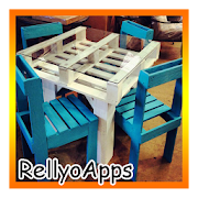 DIY pallet furniture icon