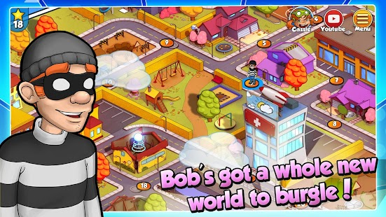 ApkMod1.Com Robbery Bob 2: Double Trouble + (Unlimited Coins) for Android Action Game