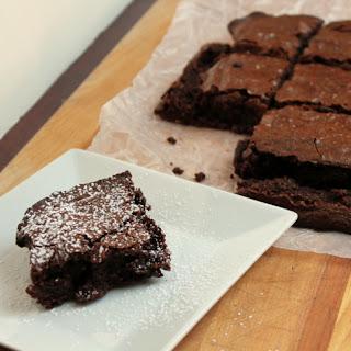 Dark Chocolate Almond Brownies Recipe