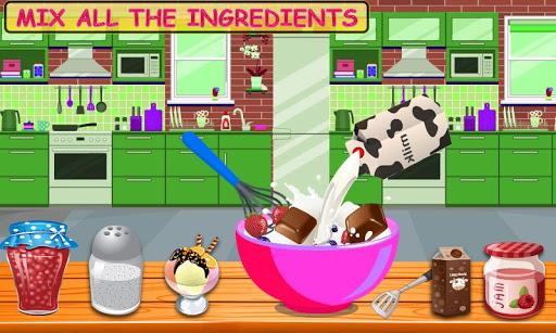 Rainbow Ice Cream Cone & Popsicle Maker Game 1.0 screenshots 1