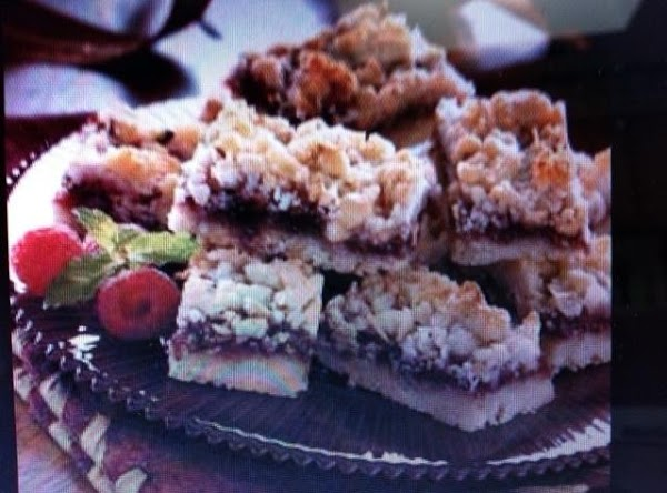 Coconut Raspberry Bars Recipe