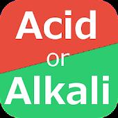 Acid or Alkaline Diet Card