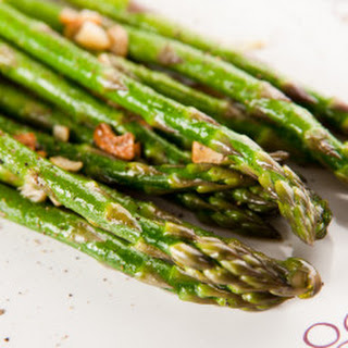 Garlic Roasted Asparagus.