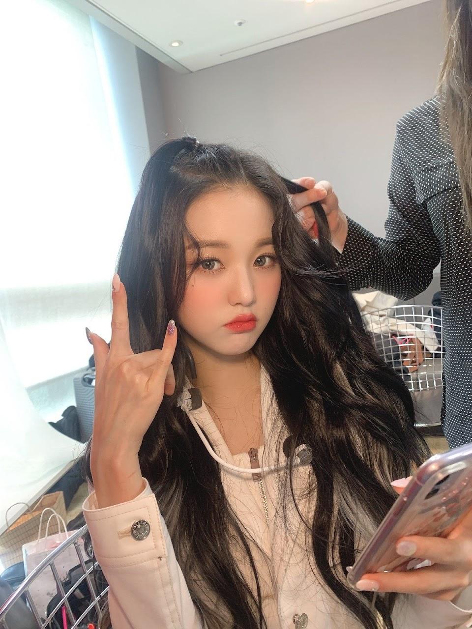wonyoung hair 48