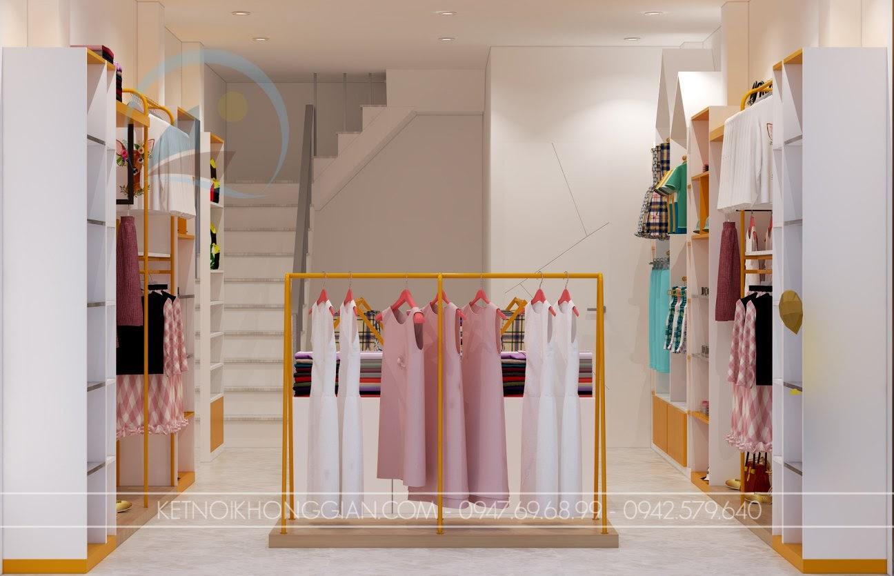 thiết kế shop mẹ và bé nhím store 9