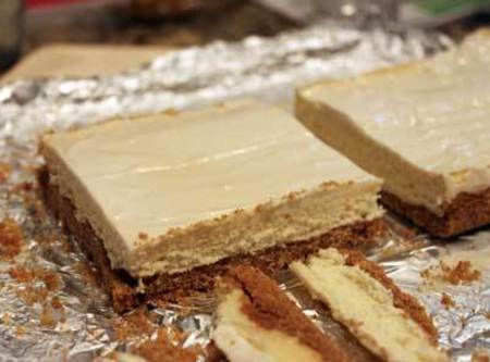 Mix topping ingredients and brush over the top. Bake for another 10 minutes. Remove...