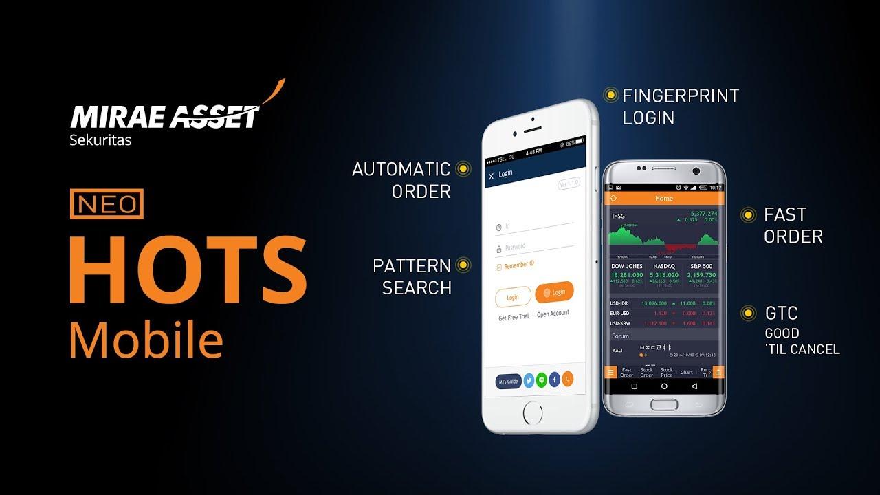 Aplikasi Mobile Mirae Asset Sekuritas