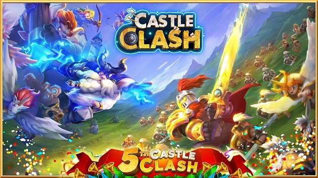 clash de châteaux:castle clash apk screenshot