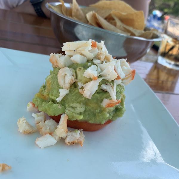 Lobster Mango Guacamole