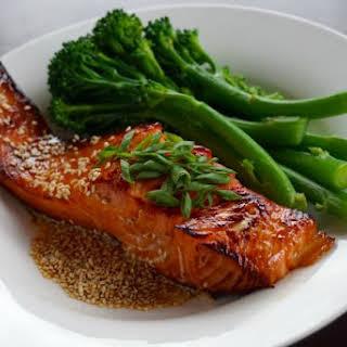 Superfood Sesame Teriyaki Salmon.