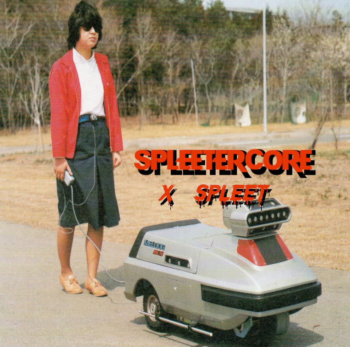 copertina album X-spleet // Spleetercore Vol. 1