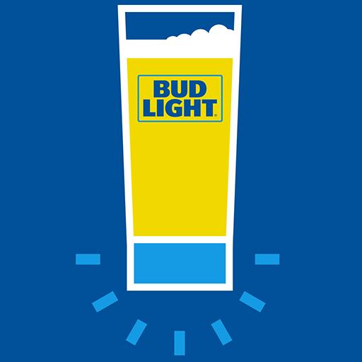 Bud Light Touchdown Glass