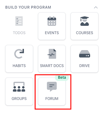 forum block icon