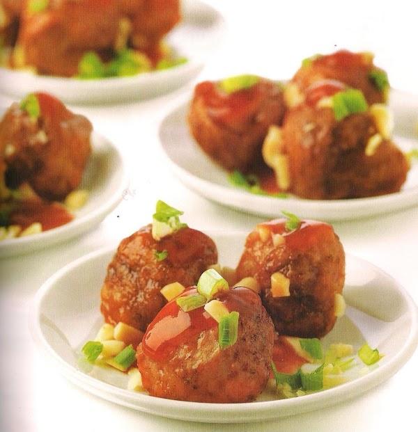 Meatballs In Spicy Sauce Recipe