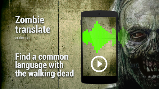 Zombie Translator Audio joke screenshot