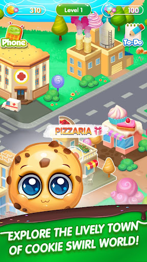 Screenshot for Cookie Swirl World in United States Play Store