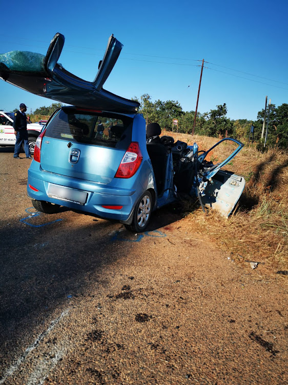 Four people were killed and five others injured in a collision between two vehicles in Tzaneen on Saturday morning.