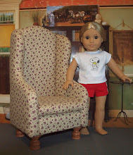 Photo: Wing chair that my sister and I made.